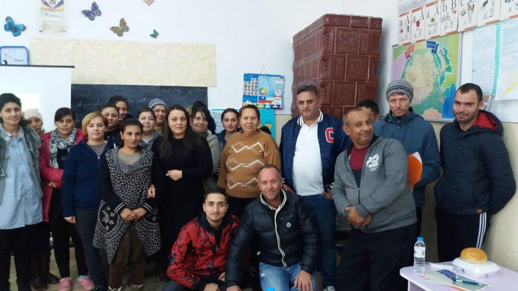 O parte dintre beneficiarii proiectului Ketanes